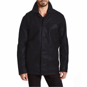 JCPenney Phase Ii Excelled Lambskin Car Coat