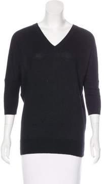 Derek Lam Dolman Sleeve V-Neck Sweater