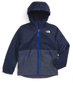 The North Face Boy's Warm Storm Hooded Waterproof Jacket