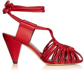 Etoile Isabel Marant Milly leather cage sandals