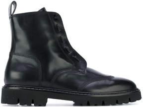 Maison Margiela classic lace-up boots