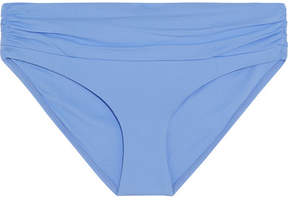 Melissa Odabash Bel Air Ruched Bikini Briefs - Azure