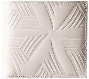 Marni Flower Embossed Leather Bifold