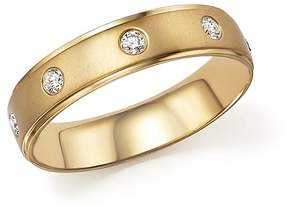 Bloomingdale's Diamond Men's Band in 14K Yellow Gold, .25 ct. t.w.
