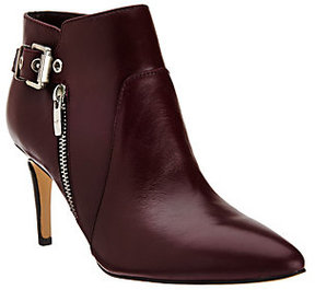 Marc Fisher As Is Leather Pointed-Toe Ankle Boots - Trinity