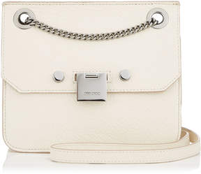 Jimmy Choo REBEL/XB Chalk Soft Grained Goat Leather Cross Body Bag