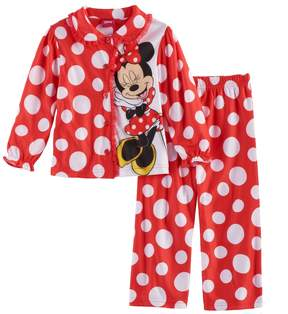 Disney Disney's Minnie Mouse Toddler Girl 2-pc. Top & Pants Pajama Set