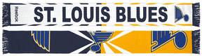 Reebok adidas St. Louis Blues Jacquard Wordmark Scarf
