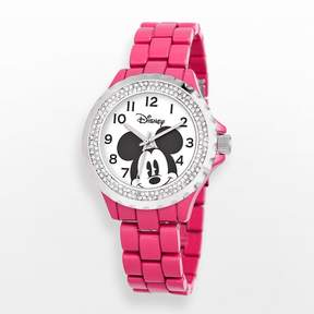 Disney Disney's Mickey Mouse Women's Crystal Watch