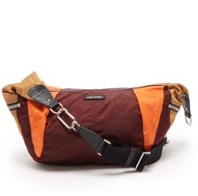 Isabel Marant Nilwey Panelled Shoulder Bag - Womens - Burgundy Multi