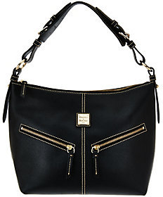 Dooney & Bourke As Is Saffiano Leather Mary Hobo Bag - ONE COLOR - STYLE