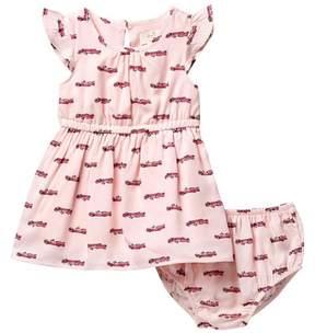 Kate Spade hot rod dress & bloomers set (Baby Girls)