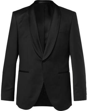 HUGO BOSS Black Jefron Super 120s Virgin Wool Tuxedo Jacket
