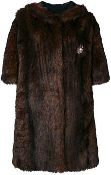 Faith Connexion faux fur coat