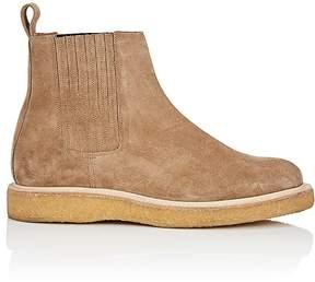 Saint Laurent Men's Hugo Suede Chelsea Boots