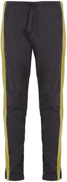 Cottweiler Contrast-panel shell trousers