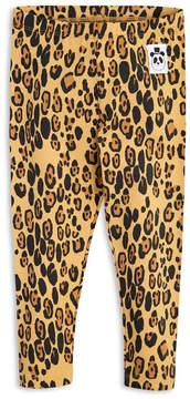Mini Rodini Organic Cotton Leopard Leggings