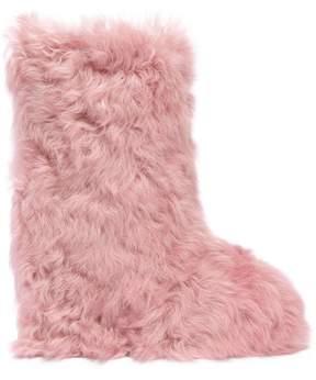 Moncler Fernande Fur Boots
