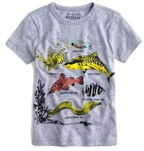 J.Crew crewcuts by Safari Fish Graphic T-Shirt