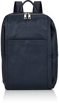 Barneys New York MEN'S LEATHER ZIP-AROUND BACKPACK