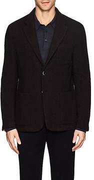 Barena Venezia Men's Wool-Blend Jacquard Two-Button Jacket