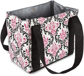 Fit & Fresh Pink & Black Damask Venice Insulated Lunch Bag & Ice Pack