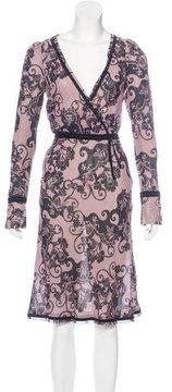 DAY Birger et Mikkelsen Long Sleeve Paisley Print Dress