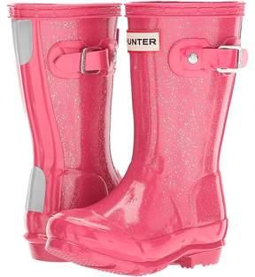 Hunter Original Glitter Finish Kids Shoes