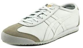 Onitsuka Tiger by Asics Mexico 66 Round Toe Leather Sneakers.