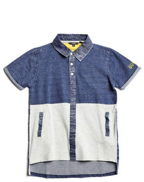 GUESS Short-Sleeve Contrast Polo (7-18)