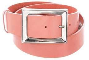 Orciani Leather Buckle Belt
