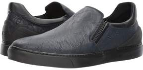 Emporio Armani Stretch Leather Sneaker Men's Shoes
