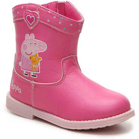 Peppa Pig Girls Peppa Toddler Cowboy Boot