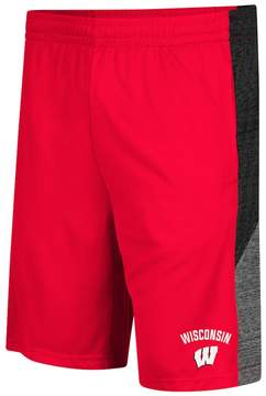 Colosseum Men's Wisconsin Badgers Friction Shorts
