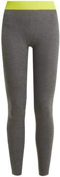 Charli COHEN Helix performance cotton-blend leggings
