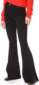 7 For All Mankind B(air) High Waist Ali Jeans with Side Splits