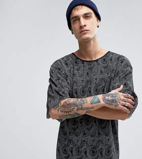 Reclaimed Vintage Inspired T-Shirt In Plisse