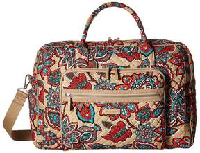 Vera Bradley Iconic Weekender Travel Bag Weekender/Overnight Luggage - DESERT FLORAL - STYLE