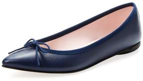 Repetto Women's Brigitte Leather Pointed-Toe Flat