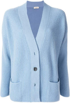 Bruno Manetti ribbed cashmere cardigan