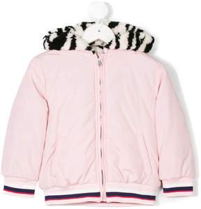 Kenzo reversible Tiger logo coat