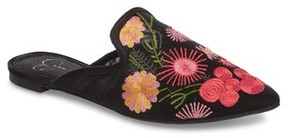 Jessica Simpson Women's Zander Flower Embroidered Loafer Mule