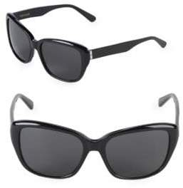 Vera Wang 55MM Butterfly Sunglasses