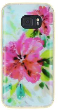 Trina Turk Translucent Samsung Phone Case - Floral Blue - Galaxy S7 Edge