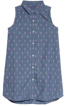 Tucker + Tate Sleeveless Shirtdress