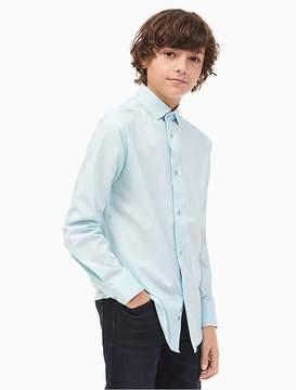 Calvin Klein Boys Dobby Shirt