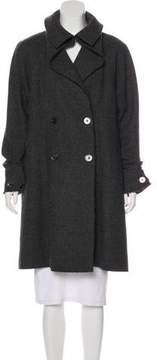 Chanel Double-Breasted Wool Coat