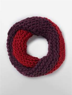 Calvin Klein colorblock snood scarf