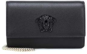 Versace Palazzo leather clutch