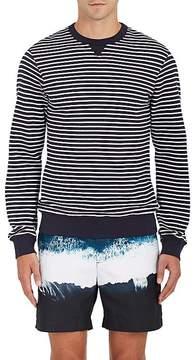 Orlebar Brown Men's Pierce Striped Stretch-Cotton Sweatshirt